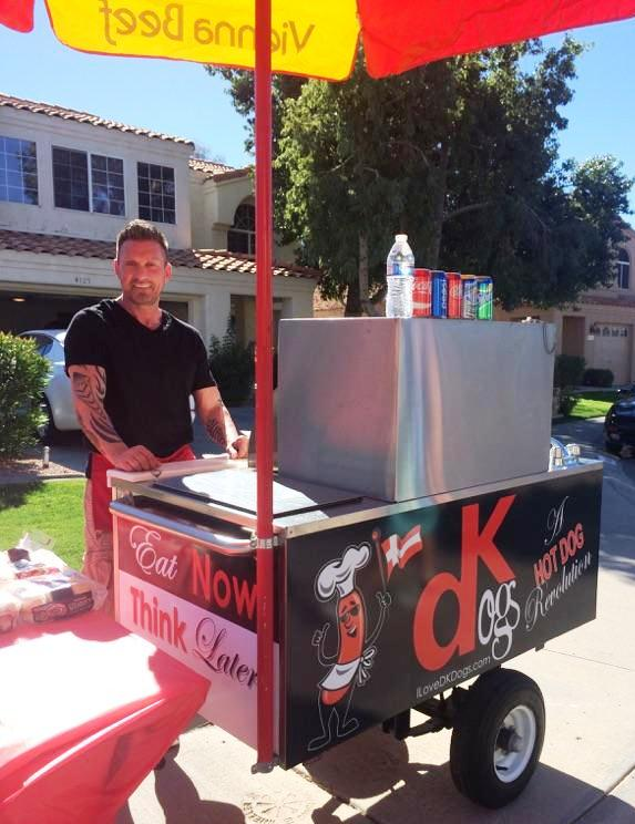 Hot Dog Cart Catering Phoenix