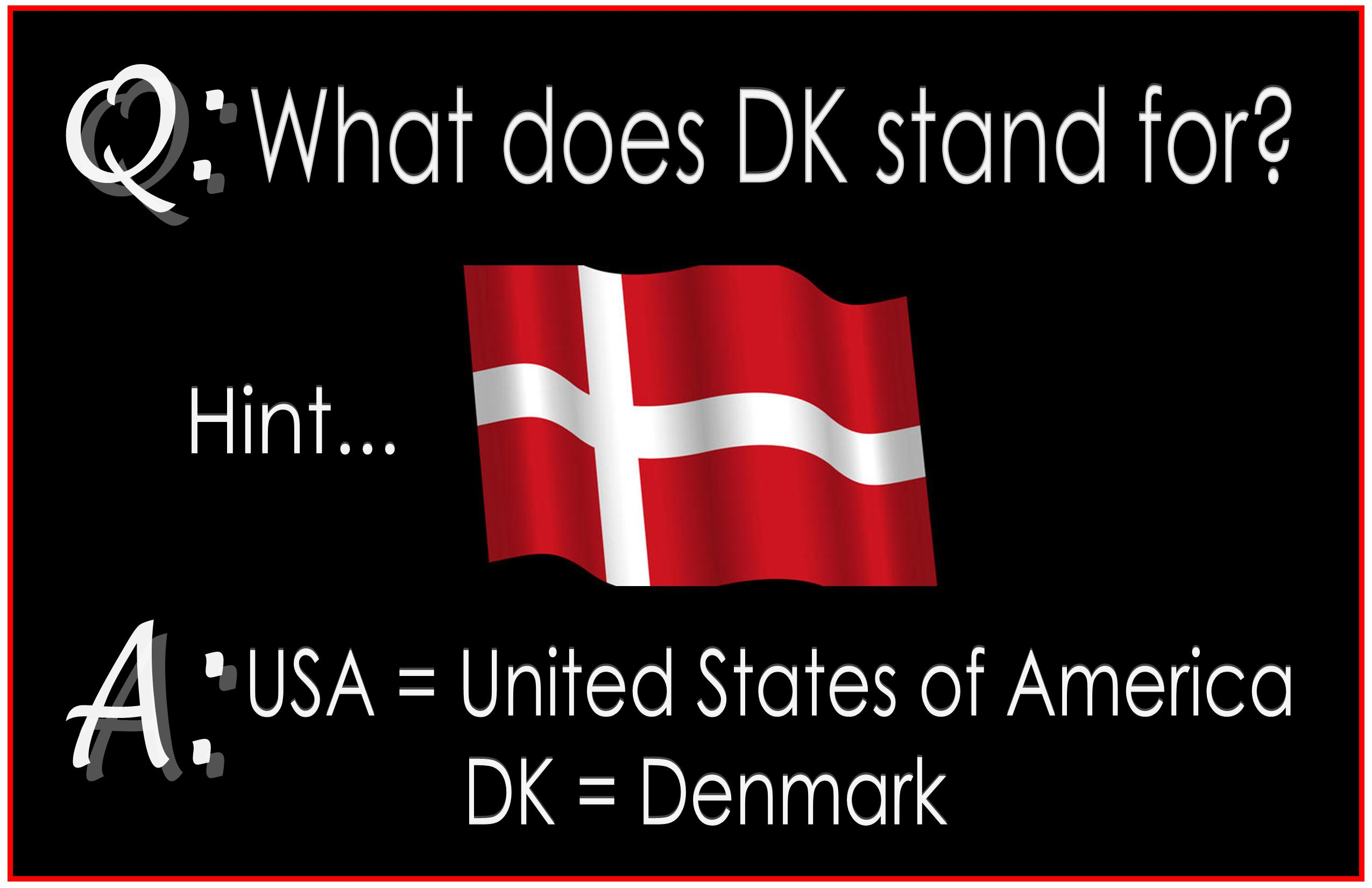 What does DK stand for